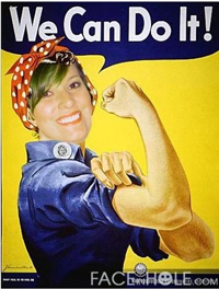 My friend, Tonya - The Riveter