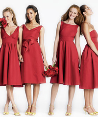 Bridesmaids---Red