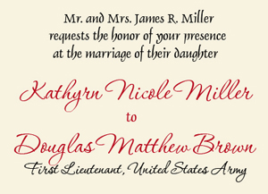 Regency Wedding Invitations Free Wedding Invitations To Print >>