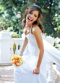 Laughing-Bride