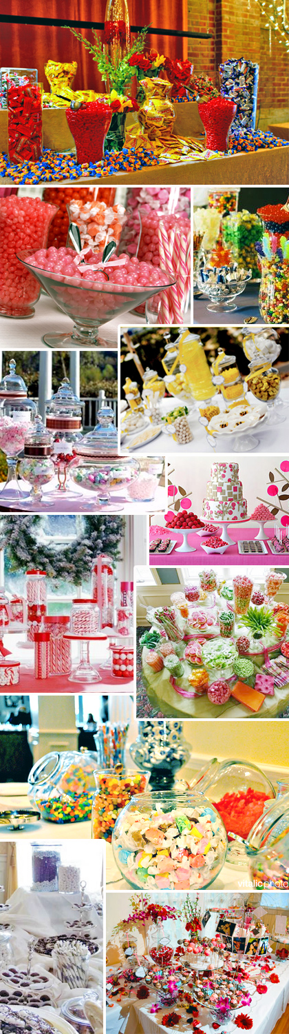 Dive into this delicious wedding detail candy bar buffets for Candy bar for weddings receptions