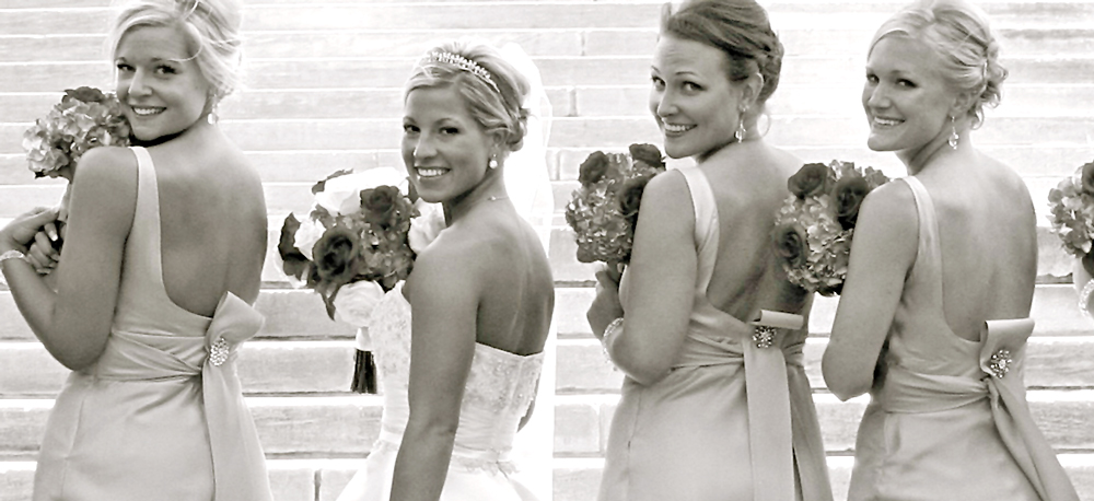 » Fun Wedding Detail: Let Your Bridesmaids Brooch it Up!