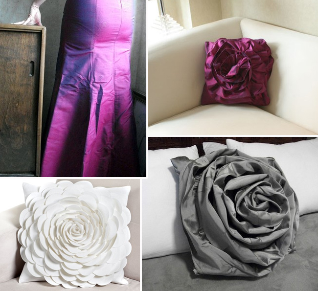 From drab to fab turn old bridesmaid s dresses into warm home
