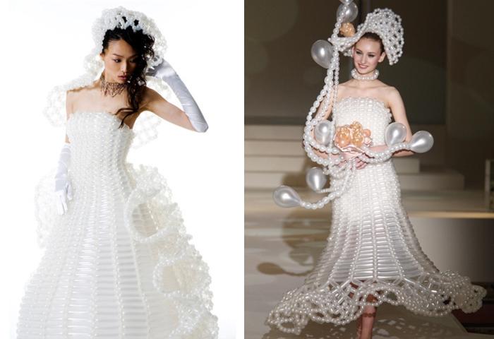 outrageous wedding dresses
