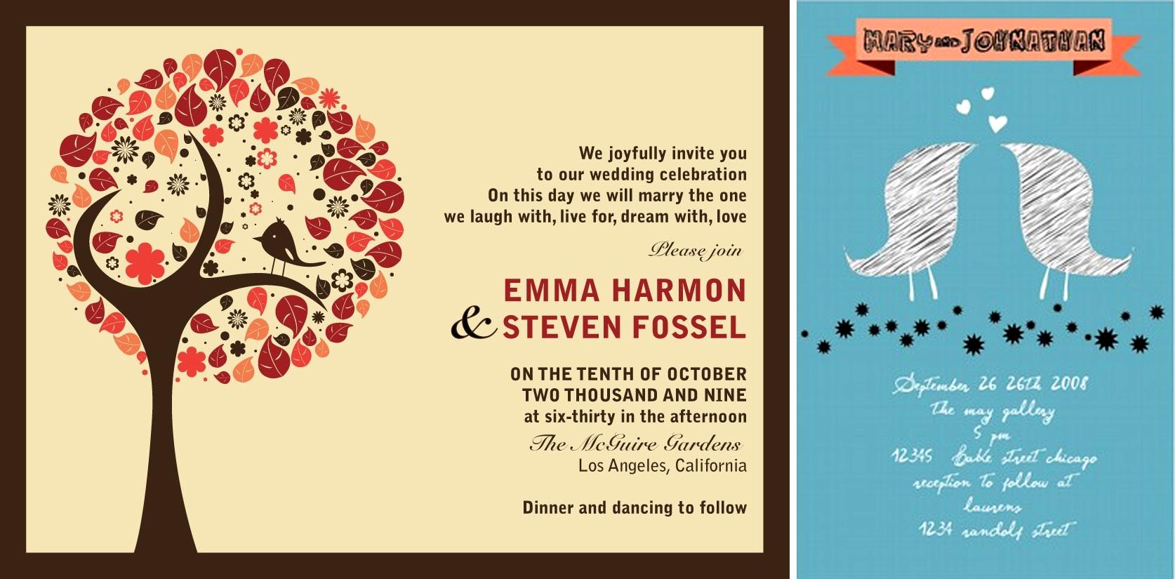 wedding invitation | The Best Wedding Blog Ever by Marilyn\'s Keepsakes