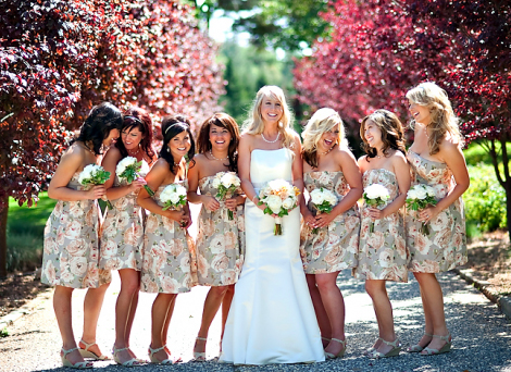 unique bridesmaid dresses  The Best Wedding Blog Ever by ...