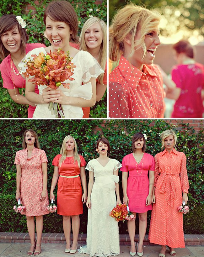 unique bridesmaid dresses - The Best Wedding Blog Ever by ...