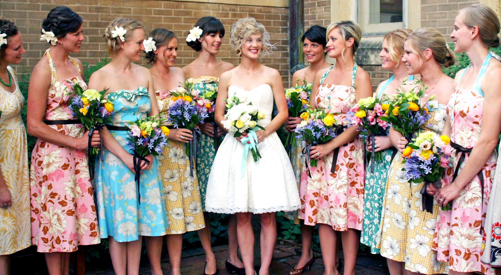 Unique bridesmaid dresses the best wedding blog ever by photo ombrellifo Gallery