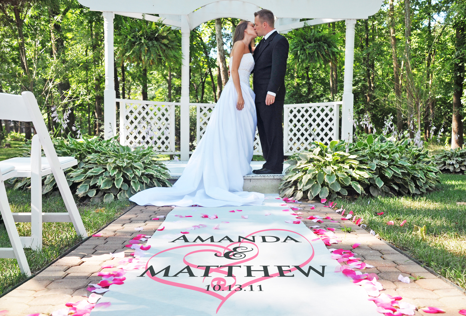 Wedding Tested Bride Approved Personalized Aisle Runners 4 Your