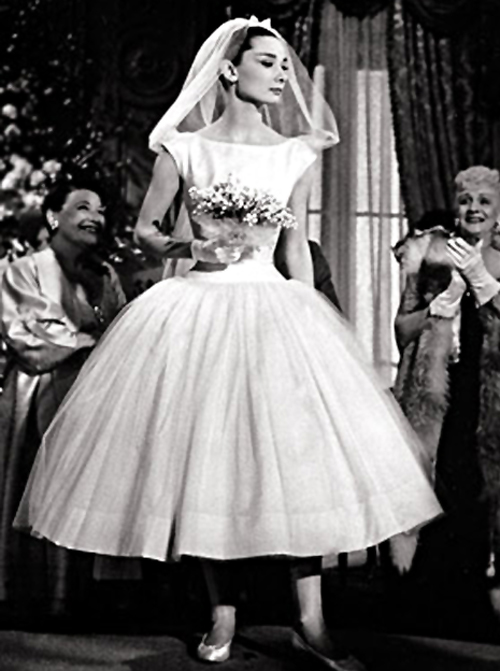 The best wedding blog ever by marilyn 39 s keepsakes for Audrey hepburn inspired wedding dress